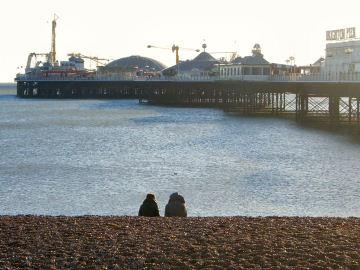 Brighton Pier and Brighton people